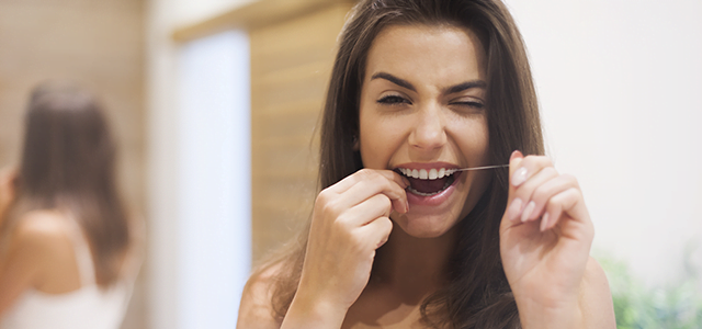 Only floss the teeth you want to keep | Dental Pearls